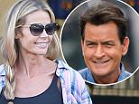 Please contact X17 before any use of these exclusive photos - x17@x17agency.com   Denise Richards with her and Charlie's daughter Sam, 11 shopping at CVS. Charlie Sheen will make the big announcement on Today's show tomorrow that he is HIV positive and it is reported that Denise knew. Monday, November 16, 2015. X17online.com