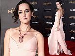 """LOS ANGELES, CA - NOVEMBER 16:  Actress Jena Malone attends the premiere of Lionsgate's """"The Hunger Games: Mockingjay - Part 2"""" at Microsoft Theater on November 16, 2015 in Los Angeles, California.  (Photo by Steve Granitz/WireImage)"""