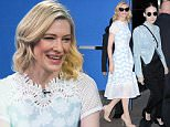 "Cate Blanchett appears on Good Morning America, NYC to promote her new film ""Carol""\n\nPictured: Cate Blanchett\nRef: SPL1177912  161115  \nPicture by: Derek Storm / Splash News\n\nSplash News and Pictures\nLos Angeles: 310-821-2666\nNew York: 212-619-2666\nLondon: 870-934-2666\nphotodesk@splashnews.com\n"