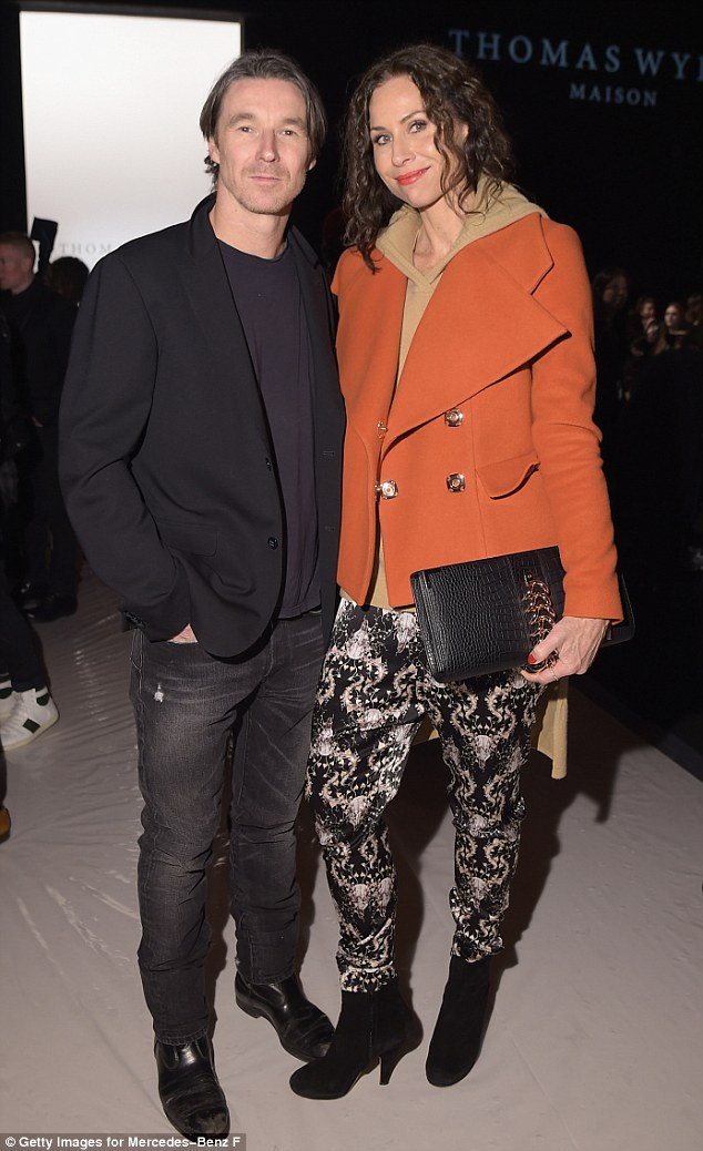 Public debut: Minnie and Neville at the Thomas Wylde Maison fashion show in New York back in February