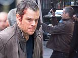 Picture Shows: Matt Damon  November 16, 2015\n \n * For MOL EXCL *\n \n Filming Of 'Bourne 5' causes upset in Central London.\n \n The timing of the filming of this scene couldn't have been more inappropriate - coming only three days after the massacre is Paris. The actors are seen covered in Blood with Matt Damon holding a gun.\n \n Our photographer spoke with several members of the public who expressed their shock at how inappropriate it was to be glorifying violence so soon after a major atrocity.\n \n \n Exclusive All Rounder\n Worldwide Rights\n Pictures by : FameFlynet UK © 2015\n Tel : +44 (0)20 3551 5049\n Email : info@fameflynet.uk.com