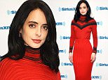 NEW YORK, NY - NOVEMBER 16:  (EXCLUSIVE COVERAGE) Actress Krysten Ritter visits SiriusXM Studios on November 16, 2015 in New York City.  (Photo by Slaven Vlasic/Getty Images)