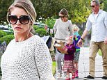 Picture Shows: Rebecca Gayheart, Georgia Dane, Billie Dane, Eric Dane  November 15, 2015\n \n Couple Rebecca Gayheart and Eric Dane take their daughters Billie and Georgia to a birthday party in Los Angeles, California. The family stopped to get gas on the way and Eric made sure to check his hair in the window before going inside the party. \n \n Exclusive All Rounder\n UK RIGHTS ONLY\n \n Pictures by : FameFlynet UK © 2015\n Tel : +44 (0)20 3551 5049\n Email : info@fameflynet.uk.com