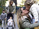 11/14/2015\nEXCLUSIVE Gisele Bundchen and Family are Adorable in NYC. Gisele and daughter Vivian and son Benjamin Brady have a wonderful time in New York City Playground on a beautiful brisk fall morning. The supermodel really looked the part of loving mother and she ran around the park playing with her two children. Gisele could be seen hugging and kissing young Vivian in these smashing images. All and all looked to be a great time for the family. Missing was husband Tom Brady. The Star quarterback will be playing the New York Giants today in East Rutherford New Jersey.\nsales@theimagedirect.com Please byline:TheImageDirect.com\n*EXCLUSIVE PLEASE EMAIL sales@theimagedirect.com FOR FEES BEFORE USE