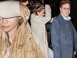 November 16, 2015: Ashley Olsen is seen exiting the trendy Polo Bar with Full House cast member Bob Saget in midtown, New York City. Mandatory Credit: PapJuice/INFphoto.com Ref: infusny-285