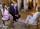 ABC NEWS - 11/17/15 - Barbara Walters talks to businessman and Republican Presidential candidate, Donald Trump, at his home in New York City.   The interview will air on all ABC News programs and platforms.   (Photo by ABC/ Ida Mae Astute)