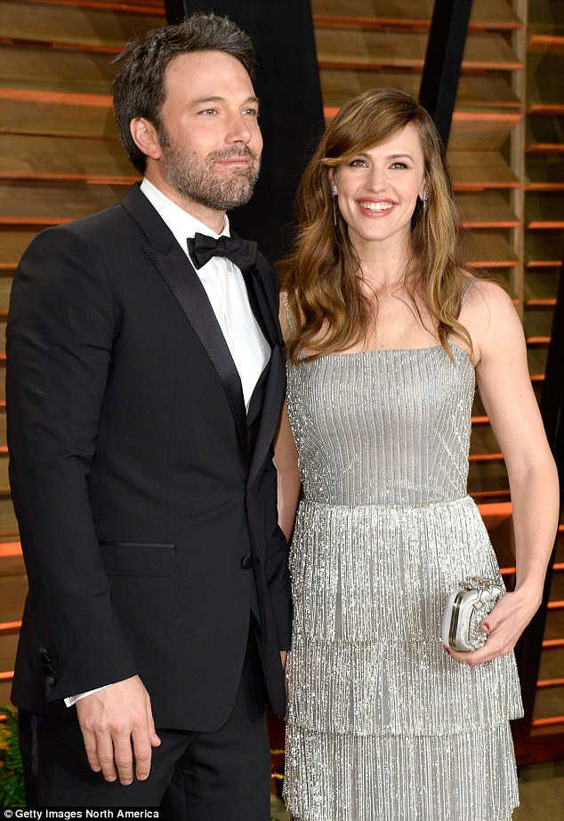 Decade-long: Jen and Ben celebrated 10 years of marriage on June 29, just one day before announcing their separation to the public (pictured in March 2014)