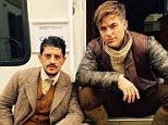 Chris Pine stars as Steve Trevor in first Wonder Woman set photo - actor Said Taghmaoui   leaks image on instagram