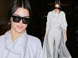 Kendall Jenner leaving from LAX to Australia for a 20 hour flight. November 15, 2015  X17online.com