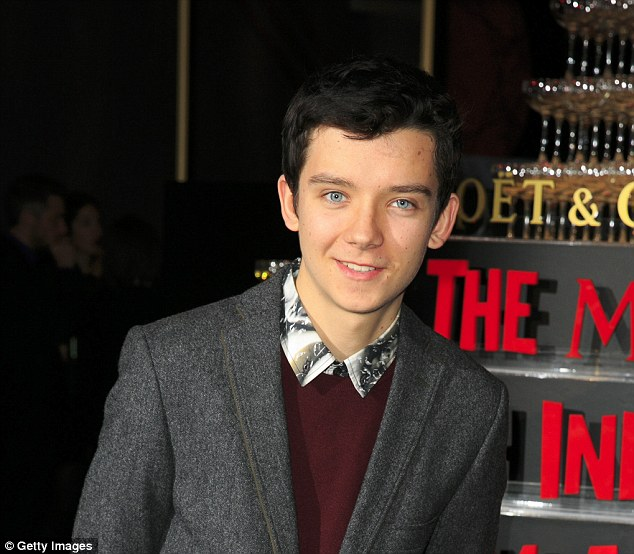 Blue-eyed boy: Asa Butterfield has grown up in front of the camera lens. Pictured at the Moet British Independent Film Awards last year