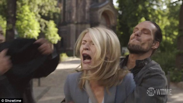 Action packed: The teaser trailer for season five of Homeland was released on Thursday