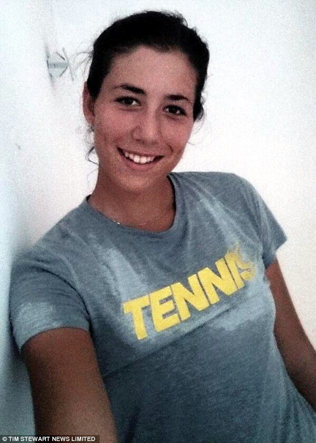 Been there, done that, got the T-shir: Garbine admits the sport is her life and she loves to play
