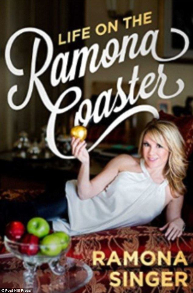 Revealing all: The Pinot Grigio entrepreneur has documented her memorable moments and marriage struggles in her new book, Life On The Ramona Coaster, which is due out on July 28
