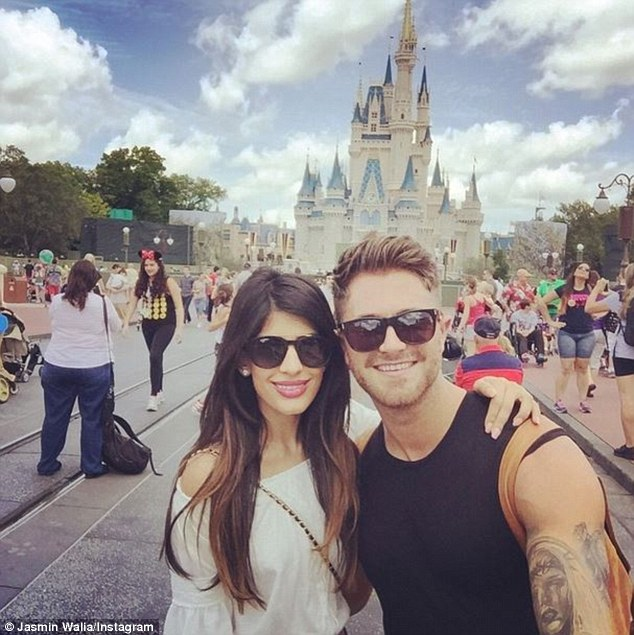 Her Prince Charming? The smitten kittens even paid Florida's Walt Disney World a visit