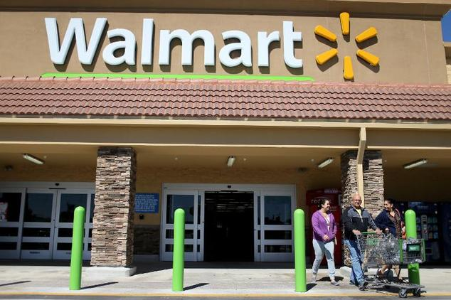 Wal-Mart currently has more than 400 stores