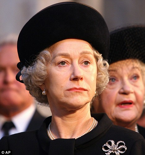 'Stick to what your good at': Helen Mirren won an Oscar for her portrayal of the Queen