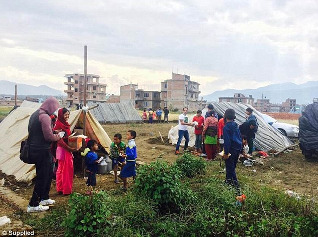 Alice and Nicolee have been shocked by the scale of the destruction and the huge, long-term challenge it will cause the beautiful country of Nepal