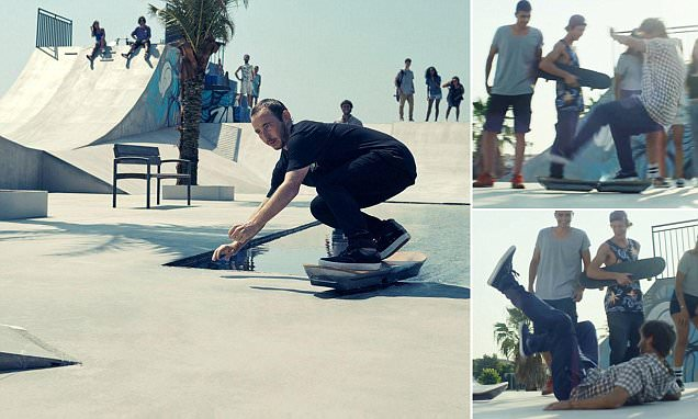 Lexus shows off hoverboard but admits it will only run on special tracks