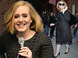 NEW YORK, NY - NOVEMBER 16:  Adele goes one on one with fans during an exclusive SiriusXM Town Hall Special in the SiriusXM Studios on November 16, 2015 in New York City.  (Photo by Kevin Mazur/Getty Images for SiriusXM)