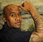 Jonah Lomu interview with Ollie Holt 26/08/15: Picture Kevin Quigley/solo syndication