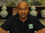 Jonah Lomu interview with Ollie (Oliver) Holt 26/08/15: Picture Kevin Quigley/solo syndication