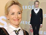 Mandatory Credit: Photo by Erik Pendzich/REX Shutterstock (5387094i)  Sharon Stone  CNN Heroes: An All-Star Tribute, New York, America - 17 Nov 2015