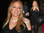 Mariah Carey arrives to Serendipity 3 in LDB for dinner with her twins this evening in New York  Pictured: Mariah Carey Ref: SPL1178400  171115   Picture by: BlayzenPhotos / Splash News  Splash News and Pictures Los Angeles: 310-821-2666 New York: 212-619-2666 London: 870-934-2666 photodesk@splashnews.com