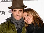 NEW YORK, NY - NOVEMBER 16:  Justin Theroux and Jennifer Aniston attend the Labyrinth Theater Company's Celebrity Charades Gala 2015 on November 16, 2015 in New York City.  (Photo by Andrew Toth/Getty Images for Labyrinth Theater Company)