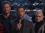 ?The Voice? The Top 12 finalists all sang tonight. One singer will be eliminated after America votes. The results show is Tuesday night. The coaches are Adam Levine, Blake Shelton, Pharrell Williams and Gwen Stefani. The host is Carson Daly.