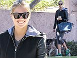 UK CLIENTS MUST CREDIT: AKM-GSI ONLY\nEXCLUSIVE: Beverly Hills, CA - Kate Upton shows off a beautiful smile heading to breakfast with friends and her pooch at The Beverly Hills Hotel.\n\nPictured: Kate Upton\nRef: SPL1178831  171115   EXCLUSIVE\nPicture by: AKM-GSI / Splash News\n\n