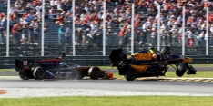 Lynn penalised for Sirotkin collision