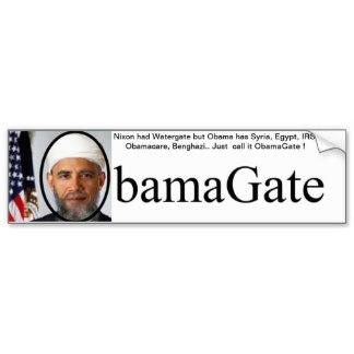 ObamaGate bumper stickers