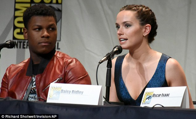 The new breed: It remains to be seen whether the likes of John Boyega and Daisy Ridley will make an impression on fans of the classic trilogy