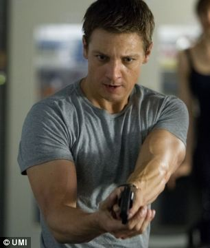 Action man: Renner takes the stage