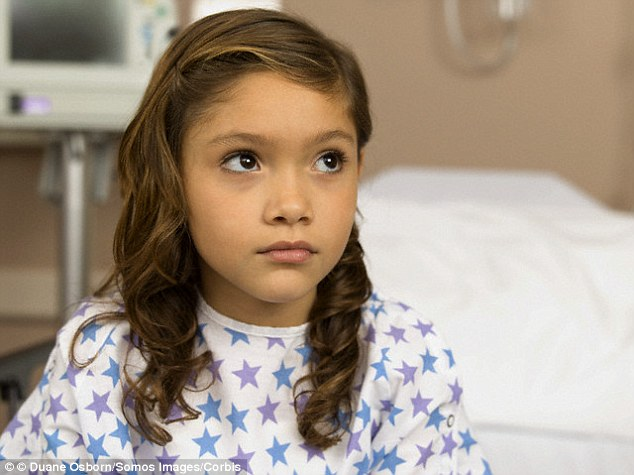 A six-year-old girl tested positive for the newly-discovered virus, called enterovirus C105. She suffered paralysis after catching a cold from a family member (file photo)