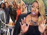 """THE VIEW - Nene Leakes is the guest on """"THE VIEW,"""" 11/17/15 (11:00 a.m. - 12:00 noon, ET) airing on the ABC Television Network.  \\n(ABC/ Lou Rocco)\\nWHOOPI GOLDBERG, PAULA FARIS, NENE LEAKES, CANDACE CAMERON BURE, RAVEN-SYMONE"""