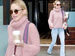 New York, NY - Kate Hudson casual cute in a pink turtleneck sweater, starting her morning off with a coffee as she checks out of her hotel in New York City\nAKM-GSI          November 19, 2015\nTo License These Photos, Please Contact :\nSteve Ginsburg\n(310) 505-8447\n(323) 423-9397\nsteve@akmgsi.com\nsales@akmgsi.com\nor\nMaria Buda\n(917) 242-1505\nmbuda@akmgsi.com\nginsburgspalyinc@gmail.com