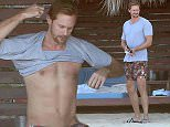 Picture Shows: Alexander Skarsgard  November 13, 2015    'True Blood' actor Alexander Skarsgard spotted laying out on the beach in Mexico.  The actor has recently wrapped up filming 'Tarzan', which is set to be released sometime in 2016.     Exclusive All Rounder  UK RIGHTS ONLY    Pictures by : FameFlynet UK © 2015  Tel : +44 (0)20 3551 5049  Email : info@fameflynet.uk.com