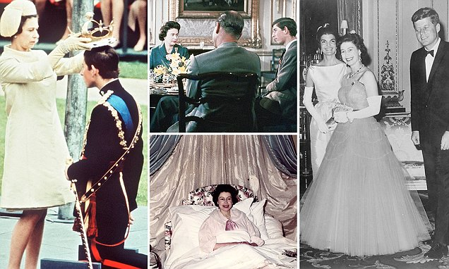 The historic news stories of the Queen in the 1960s