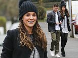 Picture Shows: Michael O'Neill, Danielle Lloyd  November 19, 2015    Former glamour model Danielle Lloyd is spotted enjoying a cozy coffee date with her new boyfriend Michael O'Neill at the local Mocha Coffee Lounge in Birmingham, England.    Michael was clutching a fistful of banknotes in his hand and Danielle, who divorced her ex-husband Jamie O'Hara late last year, arrived at the cafe with a big smile on her face.    Exclusive All Rounder  WORLDWIDE RIGHTS  Pictures by : FameFlynet UK © 2015  Tel : +44 (0)20 3551 5049  Email : info@fameflynet.uk.com