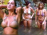 ***Embargo, not to be used before 21:00, 19 Nov 2015 - Editorial use - No Merchandising***  Mandatory Credit: Photo by ITV/REX Shutterstock (5398663bl)  Vicky Pattison and Ferne McCann enjoying a swim  'I'm A Celebrity...Get Me Out Of Here!' TV Show, Australia - 19 Nov 2015  The late entry celebs Vicky and Ferne swim at the main camp pool
