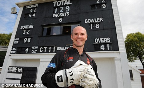 Target: Nixon was offered huge sums to throw a T20 match