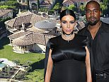January 8, 2013: Kim Kardashian and Kayne West purchase an $11 million mansion in the affluent Bel Air neighborhood of Los Angeles, California. Mandatory Credit: Karl Larsen/INFphoto.com  Ref: infusla-52|sp|