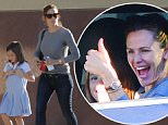 Picture Shows: Seraphina Affleck, Jennifer Garner  November 19, 2015\n \n Actress Jennifer Garner is out and about with her daughter Seraphina Affleck in Santa Monica, CA.\n \n Non-Exclusive\n UK RIGHTS ONLY\n \n Pictures by : FameFlynet UK � 2015\n Tel : +44 (0)20 3551 5049\n Email : info@fameflynet.uk.com