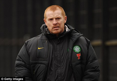 Inexperienced: 40-year-old Lennon sees Celtic 10 points behind Rangers already, albeit with a game in hand
