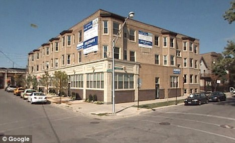 Disturbed: The block where Askew lived in a group home in the Uptown district of Chicago