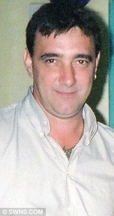 Killed: Alan Meeking died in the crash during a marital row