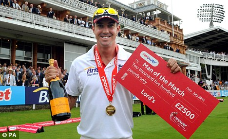 Leading lights: There's a lot at stake for Anderson and Pietersen in India