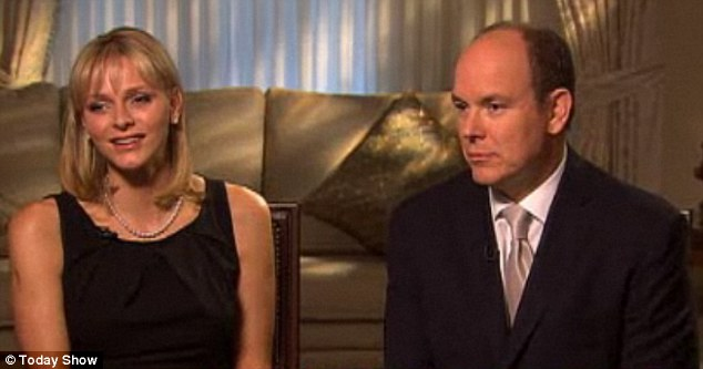 Albert and Charlene on Today show 02/11/11