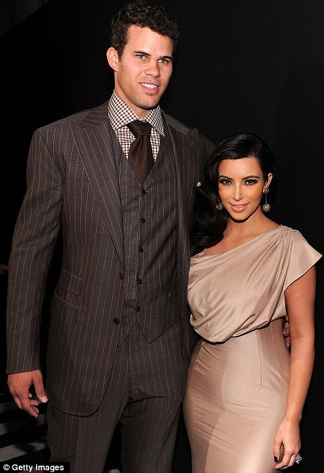 Honeymoon's over: Kim Kardashian and Kris Humphries have announced their divorce - but will it damage brands who allied themselves to the famous couple?